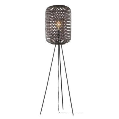 Schöner Wohnen Kollektion Stehleuchte Höhe 165 cm exkl. Leuchtmittel CALLA austauschbare LED Retrofit möglich schwarz