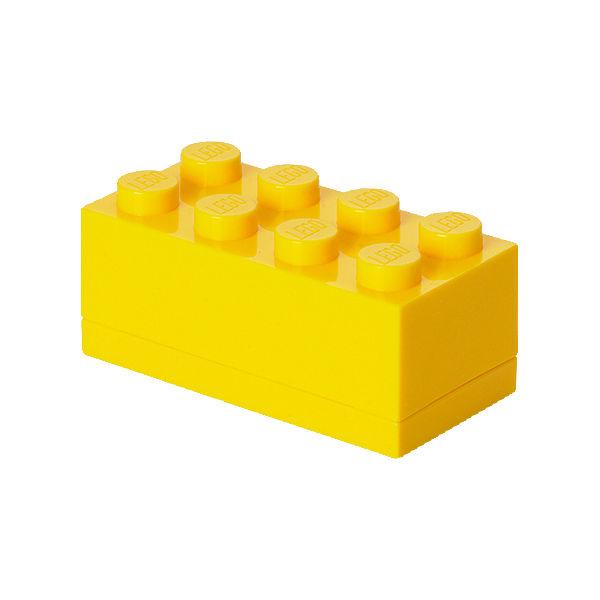 lego aufbewahrungsdose storage brick 8er gelb gelb lego yomonda. Black Bedroom Furniture Sets. Home Design Ideas