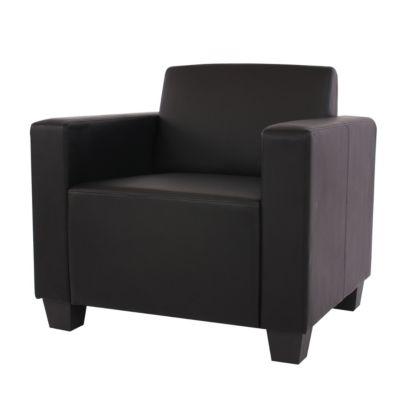 HWC Mendler Sessel schwarz