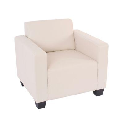 HWC Mendler Modulare Garnitur, Sessel creme