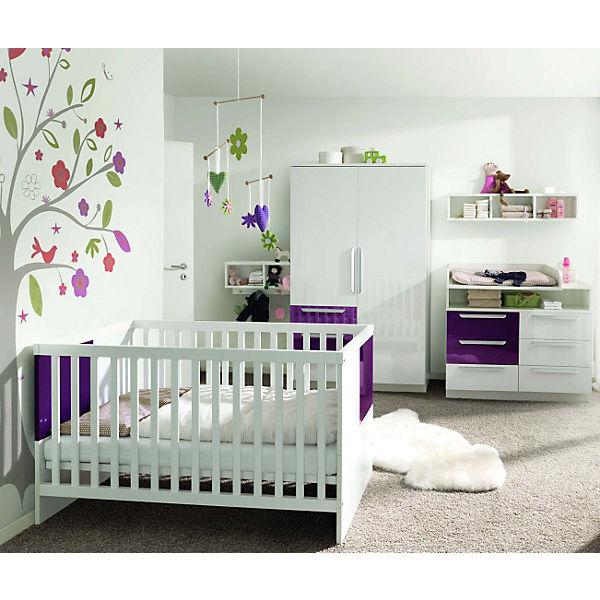 Komplett Kinderzimmer Milla 4 Tlg Kinderbett Kommode
