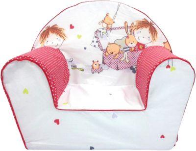 Kindersessel Spielzimmer, rot | Kinderzimmer > Kindersessel & Kindersofas | Baumwolle | knorr-baby