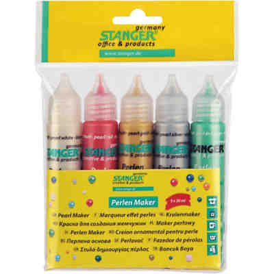 Perlen Maker Set - Perlenstifte, 5 x 30 ml
