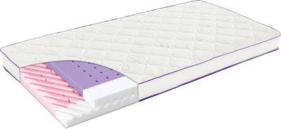 Träumeland Kinder Matratze Polarstern, 70 x 140 cm weiß | Kinderzimmer > Textilien für Kinder > Kinderbettwäsche | Weiß | Ab - Lyocell - Polyester | Träumeland