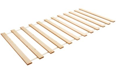 Rollrost, 90x200cm, Kiefer massiv holzfarben Gr. 90 x 200   Schlafzimmer > Lattenroste > Rollroste   Massiv   TICAA