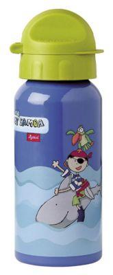 sigikid Trinkflasche Sammy Samoa, 400 ml blau