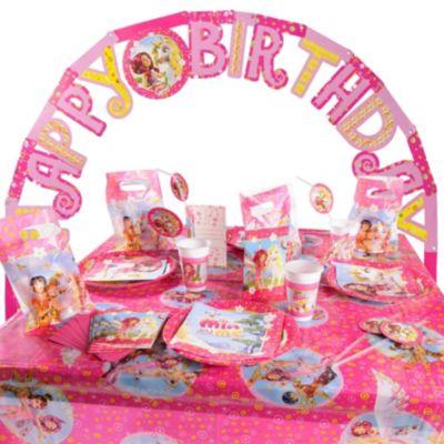Partyset Mia & Me 56-tlg. rosa