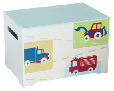 WORLDS APART Spielzeug Truhe Auto weiß | Kinderzimmer > Spielzeuge > Spielzeugkisten | Worlds Apart