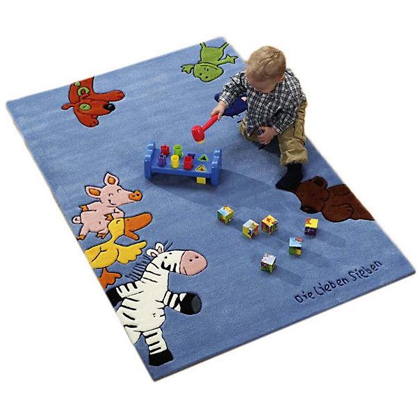 Kinderteppich die lieben sieben  Kinderteppich Die Lieben Sieben, Die lieben Sieben | yomonda