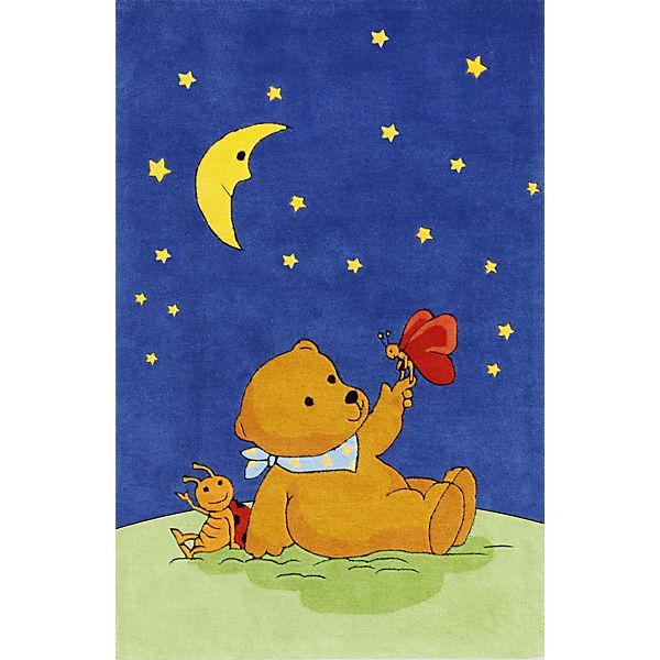 Kinderteppich Mondbar Mit Schmetterling Blau Die Spiegelburg Yomonda