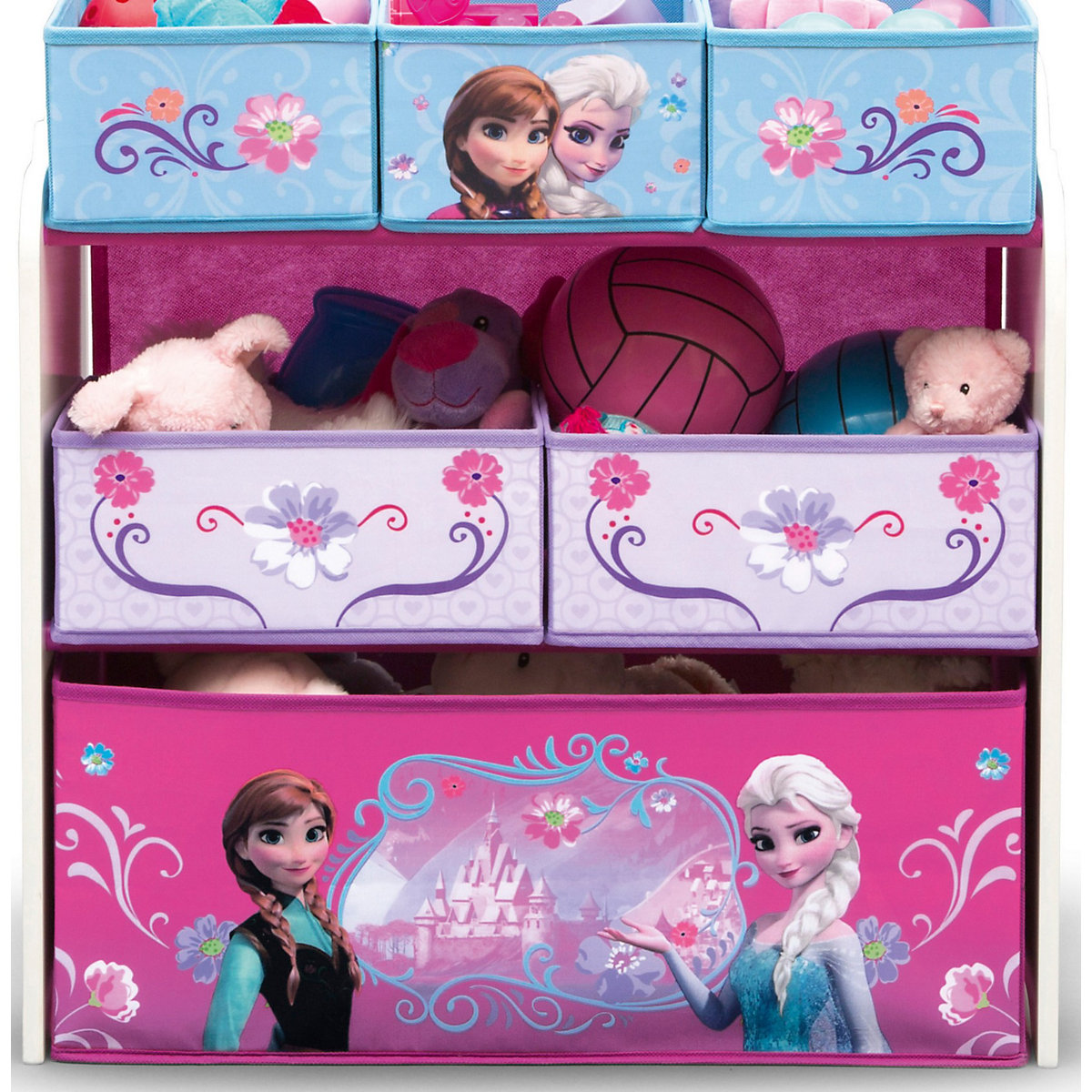6 boxen regal die eisk nigin wei disney die eisk nigin. Black Bedroom Furniture Sets. Home Design Ideas