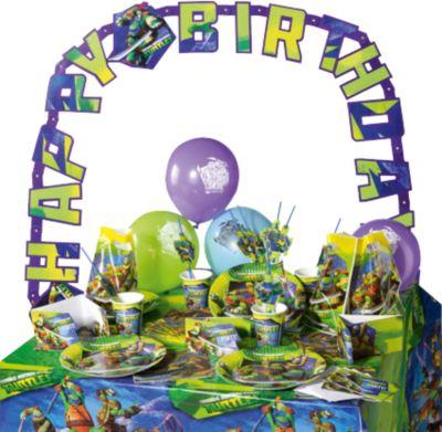 Partyset Teenage Mutant Ninja Turtles, 64-tlg. ...