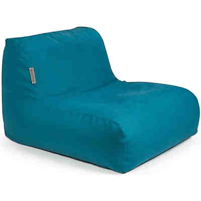 Sitzsack CHAIR, Soft, petrol