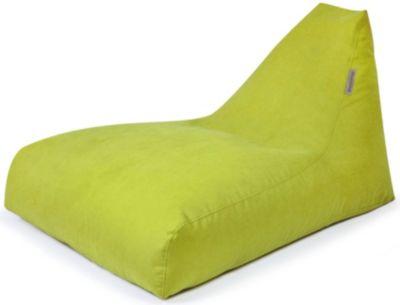 Sitzsack ANGEL, Soft, lime grün
