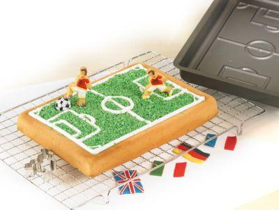 Birkmann Backform Fußballfeld anthrazit   Küche und Esszimmer > Kochen und Backen > Backformen   Birkmann