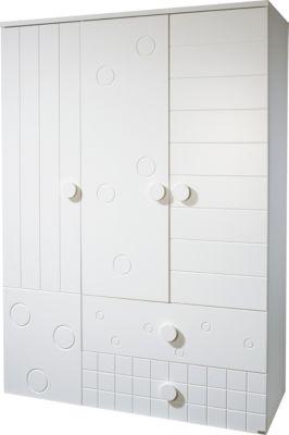 Roba Kleiderschrank CAMBINO PLAY, 3-türig, Weiß weiß
