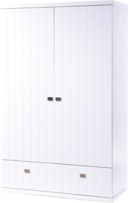 Kleiderschrank MULTISTAR, 2-türig, Weiß weiß