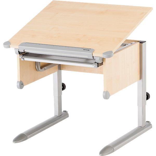Schreibtisch little h henverstellbar ahorn silberfarbig for Kettler schreibtisch 04500