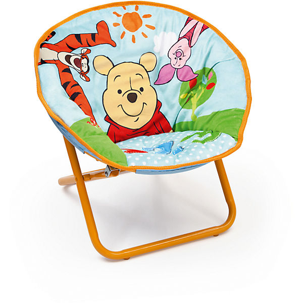 stuhl winnie pooh klappbar gelb disney winnie puuh. Black Bedroom Furniture Sets. Home Design Ideas