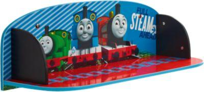 Wandregal, Thomas und seine Freunde blau