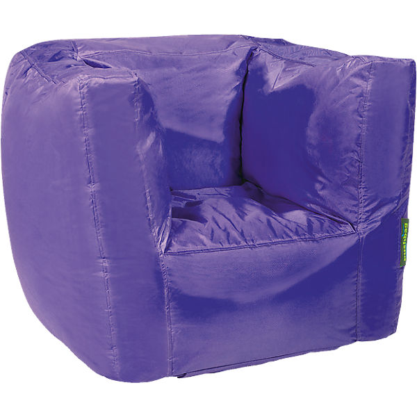 Sitzsack Cube, Oxford, purple