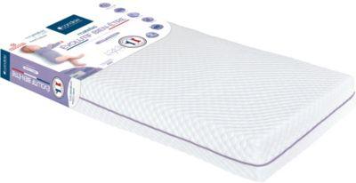 candide Kinder-Wohlfühlmatratze Evolutif, 60 x 120 cm weiß | Kinderzimmer > Textilien für Kinder > Kinderbettwäsche | Weiß | Ab - Polyester - Latex | candide