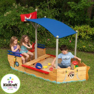 KidKraft Sandkasten Piratenschiff | Kinderzimmer > Spielzeuge > Sandkästen | KidKraft