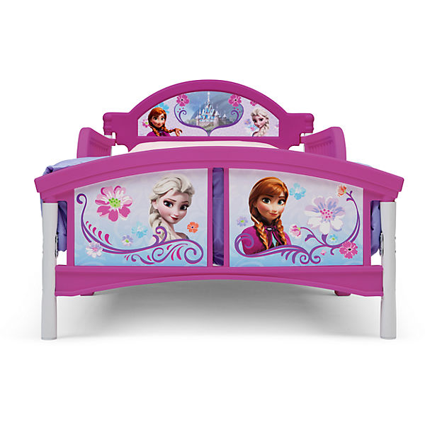 kinderbett die eisk nigin 70 x 140 cm pink disney die eisk nigin yomonda. Black Bedroom Furniture Sets. Home Design Ideas
