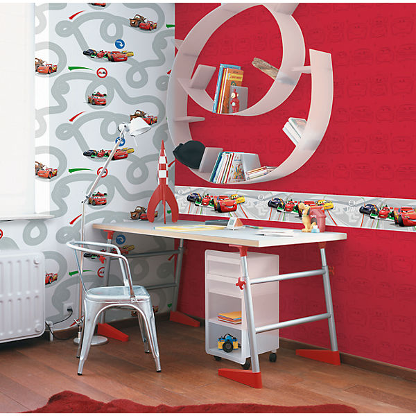 Tapete Disney Cars, 10 m x 53 cm