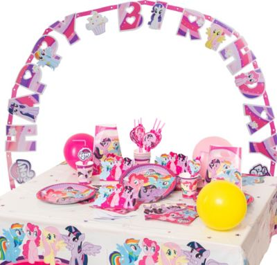 Partyset My Little Pony, 72-tlg. rosa/lila