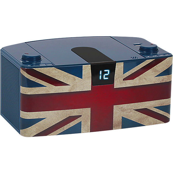 CD-Player mit USB + Radio CD57 Union Jack