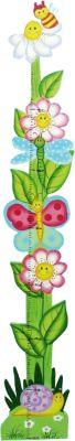 Messlatte Zaubergarten Schmetterlinge und Blume...