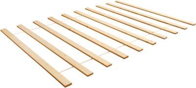 Rollrost Kiefer massiv, 140 x 200 cm holzfarben   Schlafzimmer > Lattenroste > Rollroste   Massiv   TICAA