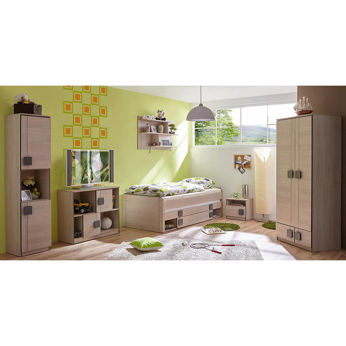 Komplett jugendzimmer camo 6 tlg einzelbett for Kleiderschrank fur jugendzimmer