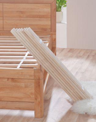Relita Rollrost, Buche, 90 x 200 cm holzfarben | Schlafzimmer > Lattenroste > Rollroste | Relita