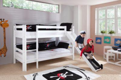 Etagenbett Jan Weiss : Weiß etagenbetten und weitere hoch günstig