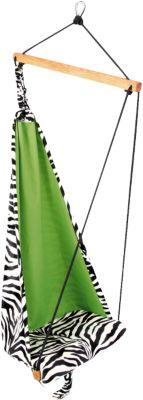 Kinderhängesessel Hang Mini, Zebra grün | Kinderzimmer > Kindersessel & Kindersofas | Polyester | Amazonas