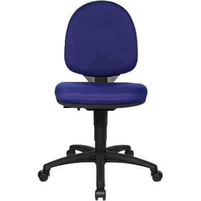 drehstuhl sitness racer rs schwarz blau blau topstar yomonda. Black Bedroom Furniture Sets. Home Design Ideas