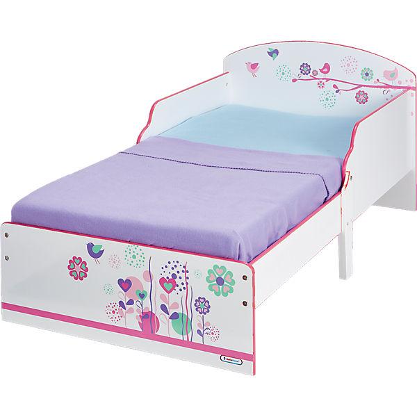 Kinderbett Blumen Und Schmetterlinge Rosa Worlds Apart Yomonda