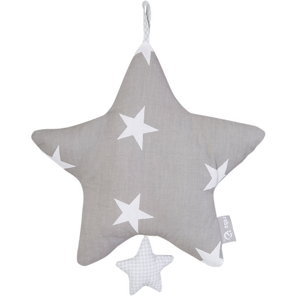 Spieluhr Little Star, grau