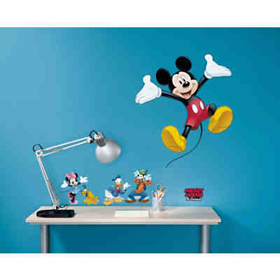 Wandsticker Mickey and Friends, 50 x 70 cm