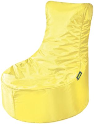 Sitzsack Seat, Oxford, gelb, gelb, pushbag