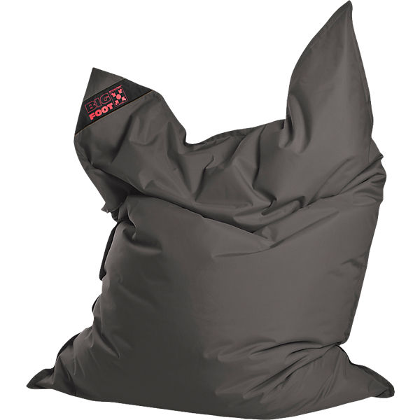 Sitzsack BIGFOOT SCUBA, 130 x 170 cm, anthrazit