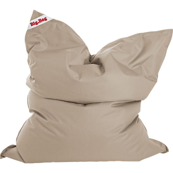 Sitzsack Bigbag Brava 125 X 155 Cm Khaki Beige Sitting Point