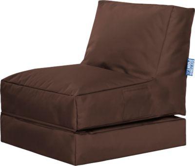 Sessel 2 in 1 Twist SCUBA klappbar, braun