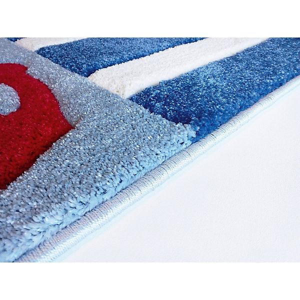 teppich auf hoher see 4 blau happy rugs yomonda. Black Bedroom Furniture Sets. Home Design Ideas