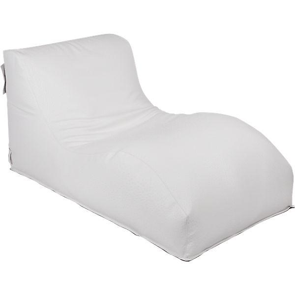 Outdoor Sitzsack Wave Deluxe Weiß Weiß Outbag Yomonda