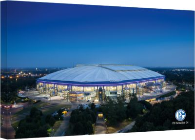 Leinwandbild FC Schalke 04 - Arena 02, 120 x 80...