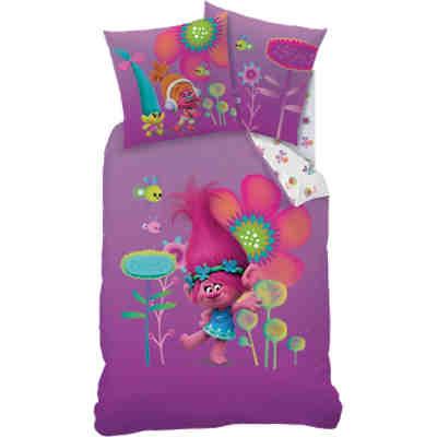 Bettwäsche Set Prinzessin Inkl Spannbettlaken Pink 135 X 200 Cm Pink Ticaa