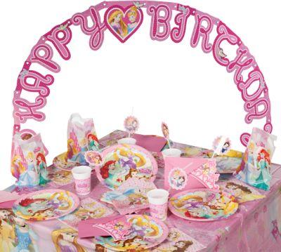 Partyset Disney Princess Dreaming, 56-tlg. rosa